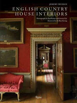English Country House Interiors by Jeremy Musson (English) Hardcover Book Free S