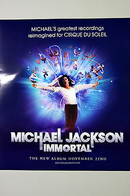 MICHAEL JACKSON - Immortal OFFICIAL POSTER /HARD TUBE CASE