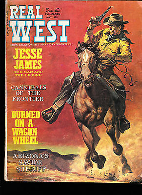 May 1970  Real West  (Charlton)  Jesse James