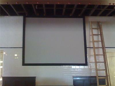 "165"" 16:9 High Contrast GRAY PROJECTOR projection SCREEN MATERIAL 84"" X 150"""