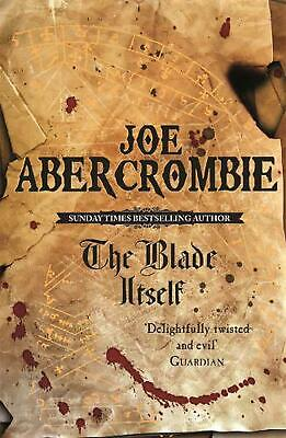 The Blade Itself: The First Law: Book One by Joe Abercrombie Paperback Book Free