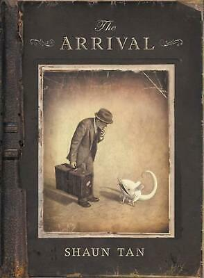 The Arrival by Shaun Tan Hardcover Book Free Shipping!