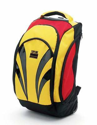 Mens Ladies Black Or Yellow Dance Ballroom Rucksack Trolley Shoe Bag by Topline