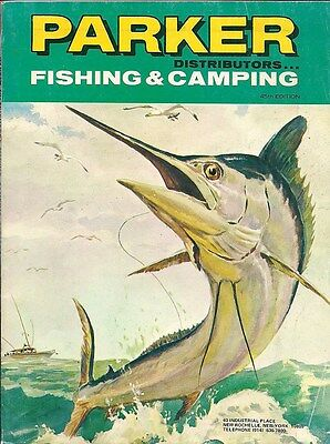 Parker Fishing & Camping Vintage Sporting Catalog 45th Edition New Rochelle NY
