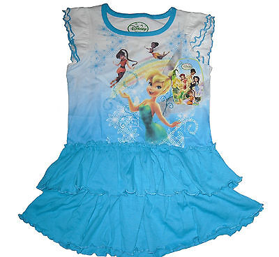 Girls Summer Dress/Outfit Disney Tinkerbell Age 12 Months Upto 5 Years Old Bnwt