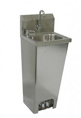 """Foot Operated Hand Sink 16""""x15"""" Stainless Steel ETL/NSF *NO LEAD FAUCET*"""