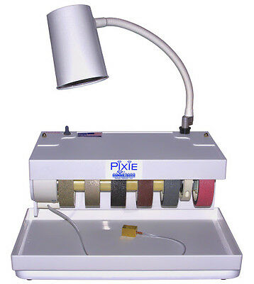 """rle  PIXIE, 4"""" DIAMOND PACIFIC GRINDER POLISHER, LAPIDARY  NEW!"""