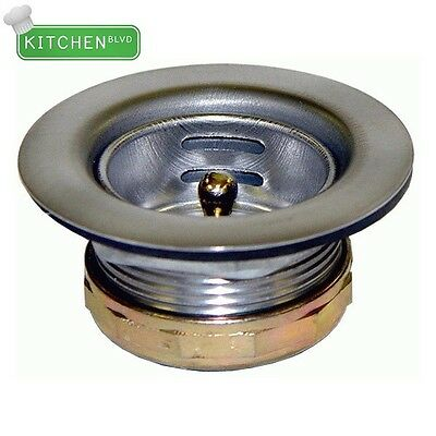 "Mini-Basket Strainer. 1-7/8"" Sink Opening. 1-1/2"" NPS Drain Outlet"