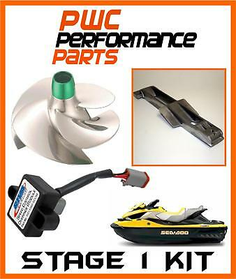 Sea Doo RXT-iS/GTX-iS/RXT-X aS Stage 1 Kit 2011-2014+ 260HP 70+MPH Impeller SCOM