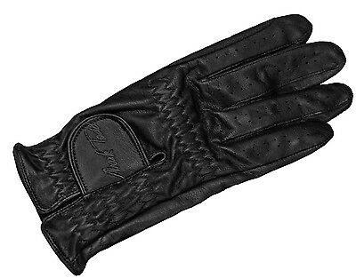 Mark Todd Faux Leather Adult Riding Gloves - Choice Of Sizes