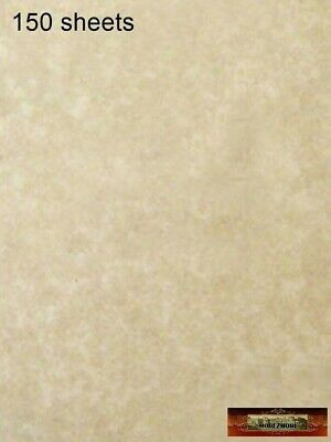 M00008x3 MOREZMORE 150 Sheets Parchment Paper AGED Heavy Certificate Blank T20