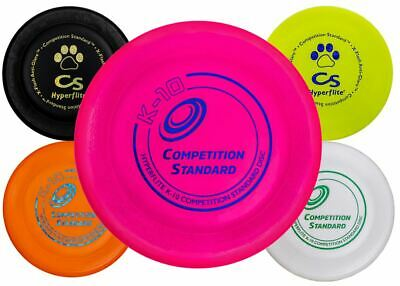Hyperflite Competition Standard Dog Disc US Made Dog Disc Dog Frisbee Flyer