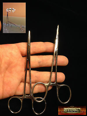 """M00353 MOREZMORE 2 Surgical Steel Serrated Hemostat Forceps Tool 5"""" A60"""