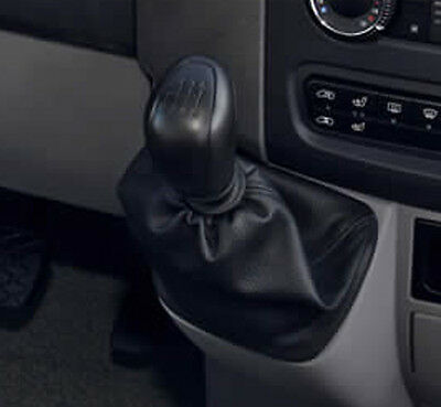 Genuine Leather Gear Shift Boot Gaiter Cover Sleeve fit Mercedes Sprinter MK2 3
