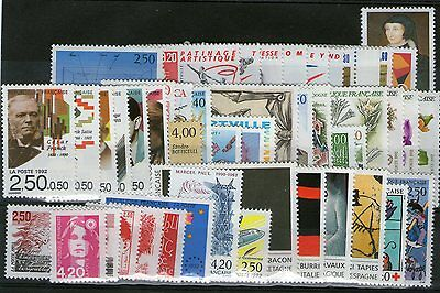 Annee Complete Neuve Xx 1992 Timbres Luxe