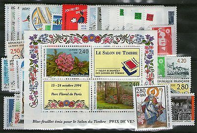 Annee Complete Neuve Xx 1993 Timbres Luxe