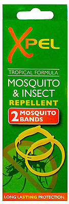 2 Pack Xpel Mosquito & Insect Repellent Bands