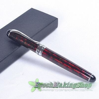 JINHAO X750 ROLLER BALL PEN DELUXE RED Magma NEW free shipping