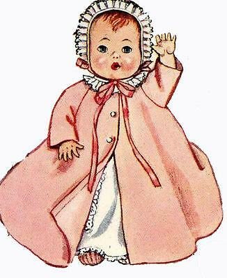 Vintage Doll Clothes PATTERN 2261 for 19 in Ginette Tiny Tears Dydee
