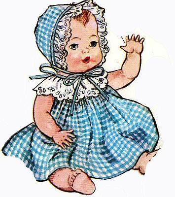 Vintage Doll Clothes PATTERN 2261 for 8 in Ginette Tiny Tears Dydee