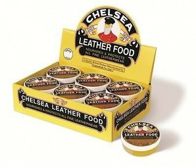 V Tech Chelsea Dubbin Leather Food for Shoes, Boots or Trainers Protects Leather