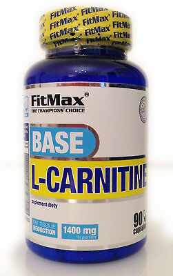 FitMax L-Carnitine 90/180 Capsules x700 mg Weight & Fat Loss - LCarnitine