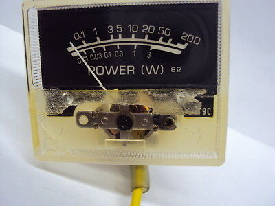 Kenwood KR 9600 Power/wattage Meter Tested and Functional Parting out KR 9600***
