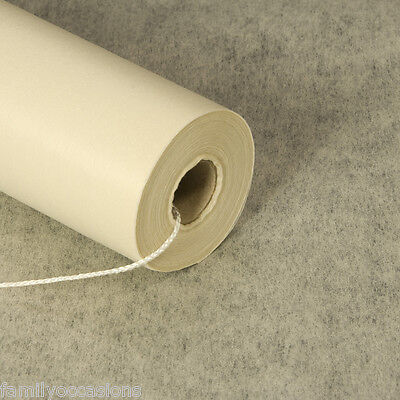 AISLE RUNNER 100ft x 3ft IVORY ELEGANT PLAIN DESIGN NEW