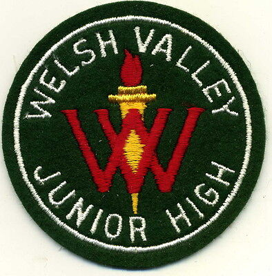 Welsh Valley Junior High Patch