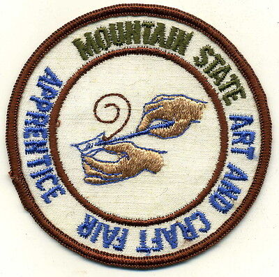 Mountain State Art and Crafts Fair Patch (West Virginia)