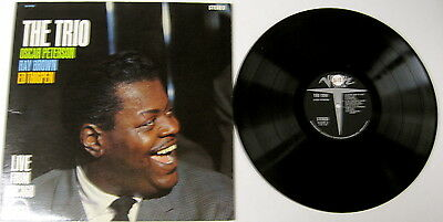 The Trio: Oscar Peterson, Ray Brown, Ed Thigpen Live From Chicago LP  VE 68420