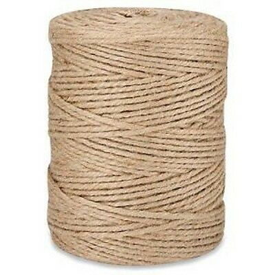 4-Ply Natural Jute Twine 10lb Ball 3700'