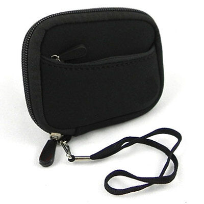 Black Soft Camera Carrying Case Bag for Canon Powershot A800 A810 A1200 A1300