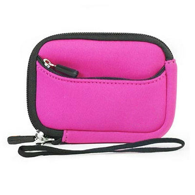 Pink Soft Camera Case Canon Powershot 2400 IS A3300 IS 3400 IS A4000 IS D10 D20