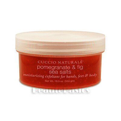 2 Cuccio Naturale Pomegranate & Fig Sea Salts, 19.5 oz. - #25-1027x2