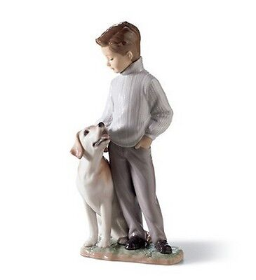 """Lladro Made In Spain  """"my Loyal Friend"""" 6902 Mint & Reduced"""
