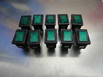 10 Count Oslo Controls R9Y2KMET2, Rocker Switches, 6a 250v, Free Shipping