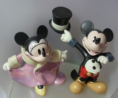 Walt Disney Classics Minnie & Mickey Gala Premier Ltd Ed 1228707 Mint & Reduced