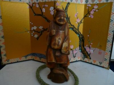 Very Nice Old Resin Chinese Immortal Figurine
