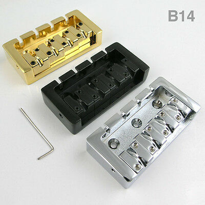 4-String chunky Bass guitar Bridge B14