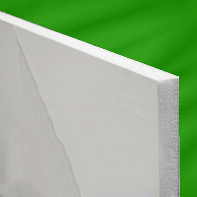 White PVC uPVC Flat Infill Door Panel  780mm X 950mm.