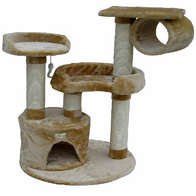 Cat Tree Toy Bed Condo Scratcher Post Furniture F21