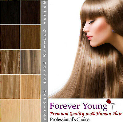 """Premium Double Weft Full Head Remy Human Hair Extension 16"""" 18"""" 20"""" 22"""""""