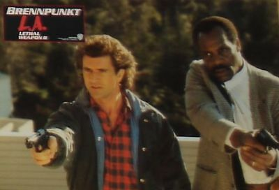 LETHAL WEAPON 2 - Lobby Cards Set - Mel Gibson, Danny Glover