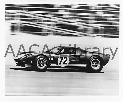1965 Shelby Cobra GT Racecar #72 on track, Factory Photo (Ref. # 75004)