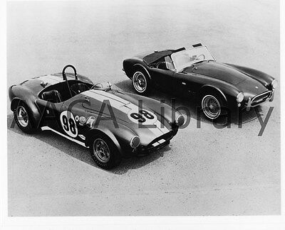 1965 Shelby Cobra 289 Roadsters; racing & street, Factory Photo (Ref. # 75005)