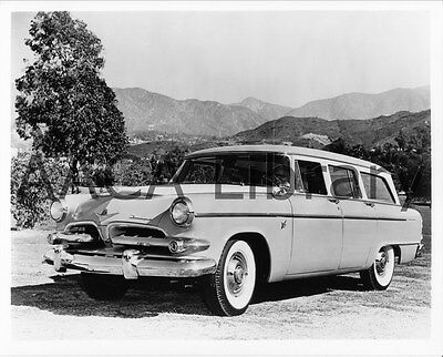1955 Dodge D56 Royal V8 Sierra Station Wagon, Factory Photo (Ref. # 38742)