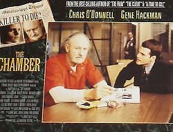 THE CHAMBER - 11x14 US Lobby Cards Set - Gene Hackman, Chris O'Donnell