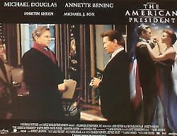 THE AMERICAN PRESIDENT - 11x14 US Lobby Cards Set Michael Douglas Michael J. Fox