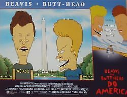 BEAVIS AND BUTT-HEAD DO AMERICA - 11x14 US Lobby Cards Set - MTV